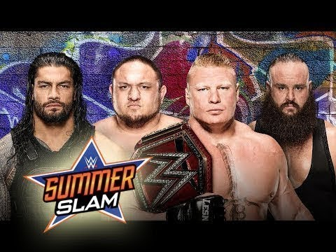 WWE Summerslam Kickoff  20 August 2017...