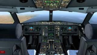 JARDesign A330 v1.2 full flight in X-Plane 10 on PilotEdge | KSFO - KSAN