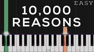 10,000 Reasons - Matt Redman | EASY Piano Tutorial