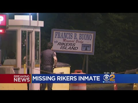Search On For Inmate Missing From Rikers...
