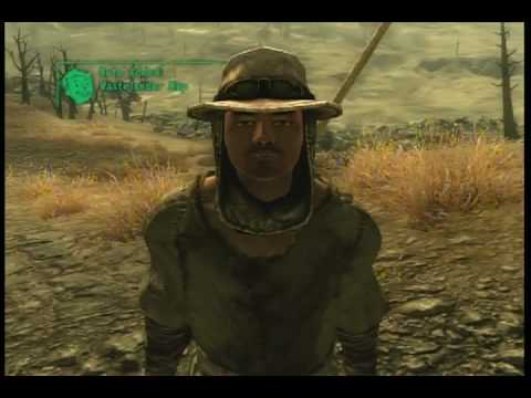 Fallout 3:Finding the alien space ship and alien blaster