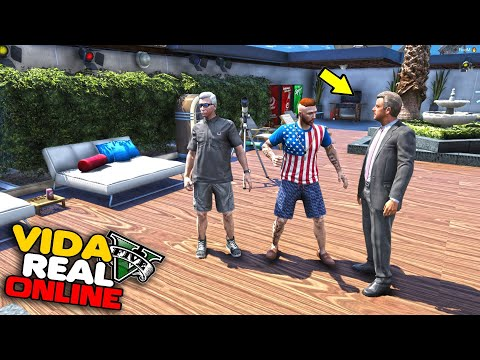 GTA V : VIDA REAL - VOU VIAJAR COM MEU PAI PRA DUBAI ?? #378