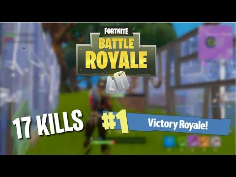 Triumph - Dusty Depot Massacre - 17 Kills (Fortnite: Battle Royale Full Game)