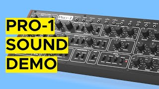 Behringer Pro-1 Sound Demo (No Talking)