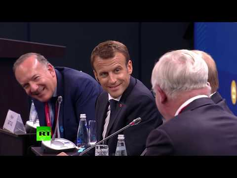 Bandit Stole It From Me! - Putin Regrets Opportunity To Rub Macron's Nose