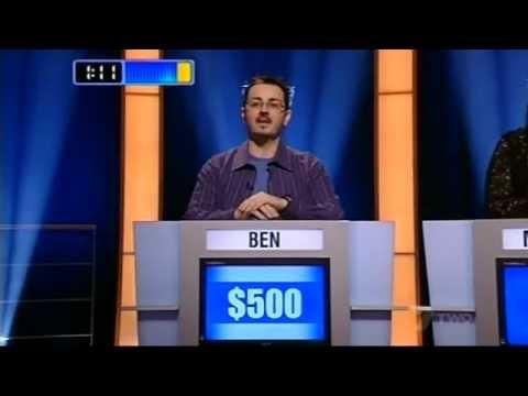 Ben Croker - Game Show 'The Master', 2006