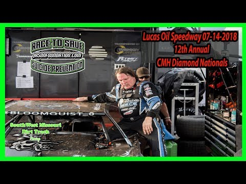 12th Annual CMH Diamond Nationals Feature -  Lucas Oil Speedway 07-14-2018