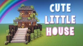 Cute Little House ♡ Minecraft Tutorial