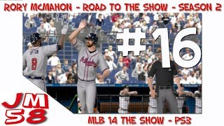 MLB 14 The Show: Road to the Show - First Major League Homerun - [Ep 16]