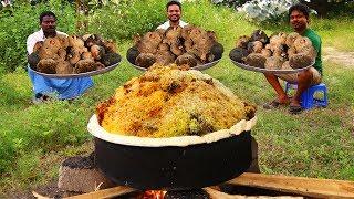 Download Elephant Foot Yam & Mutton Biryani Recipe   How To Make Elephant Foot Yam & Lamb Meat Mixed Biryani Mp3 and Videos