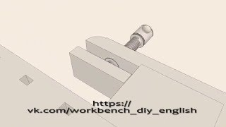 WORKBENCH VINTAGE STYLE WOODWORKING. PLANS CLEAR 3D DRAWINGS FOR FREE