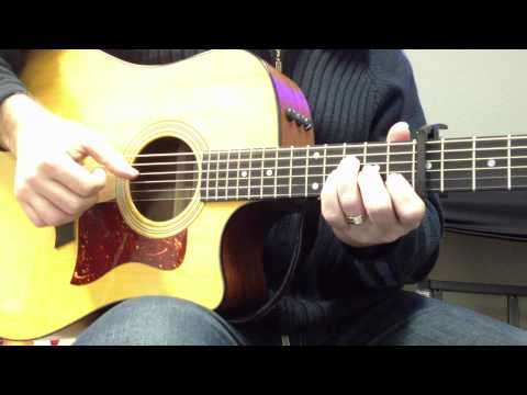 Safe & Sound - Taylor Swift - Intro, Verse, Chorus tutorial - How to Play - Including tab