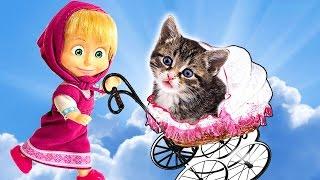 Тра-та-та, мы везём с собой кота.! Любимые песенки детства любимых деток.