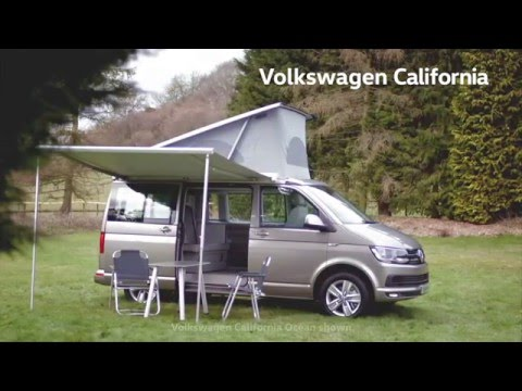 The New Volkswagen California | How To | Rear Folding Bench/Bed