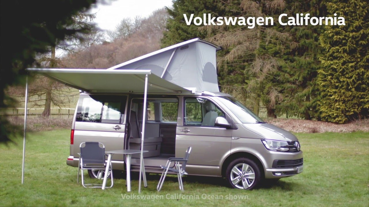 the new volkswagen california how to rear folding bench bed youtube. Black Bedroom Furniture Sets. Home Design Ideas