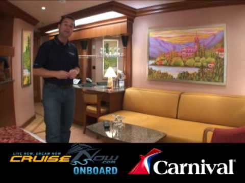 See a Stateroom onboard the NEW Carnival Dream