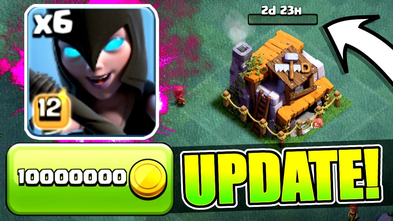 NEW UPDATE GEM SPREE! 🔥 BUILDERS HALL 6, NIGHT WITCH ...
