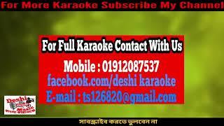 Baba Kotodin Dekhina Tomay | James | Bangla Karaoke | Deshi Karaoke