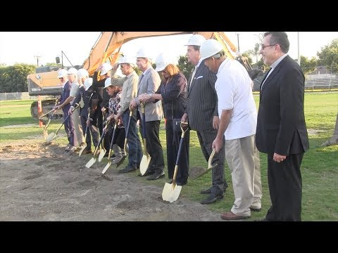 St. John Bosco has groundbreaking for new field