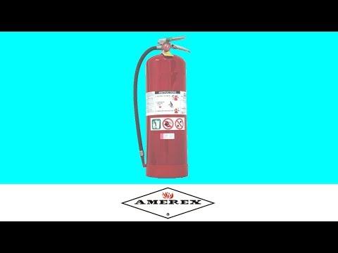 Amerex Water Extinguisher