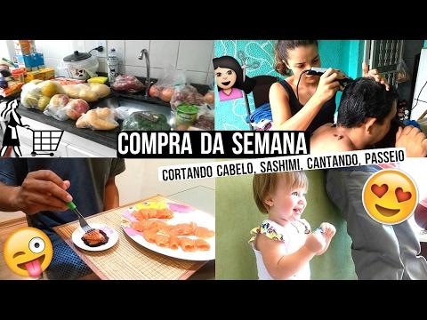 Casando aos dezoito | VLOG COMPRAS DA SEMANA, CORTANDO CABELO, PASSEIO, ETC ♥