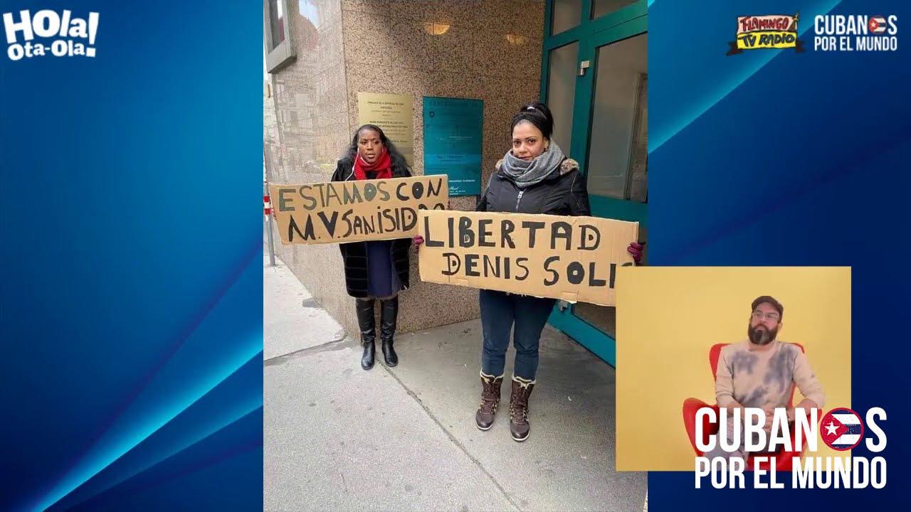 El mundo muestra su apoya a los activistas cubanos del Movimiento San Isidro en Cuba