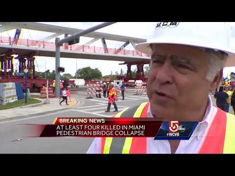 Engineering group behind collapsed FIU bridge also designed Zakim