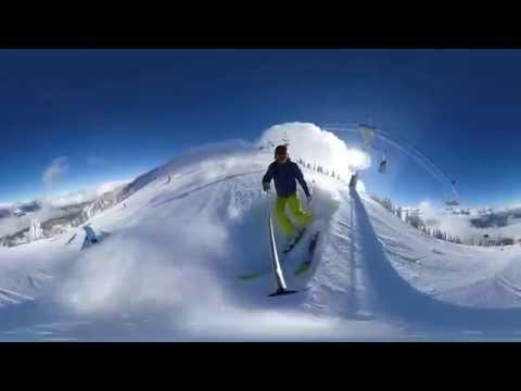 360 VR Skiing - Revelstoke BC, Canada