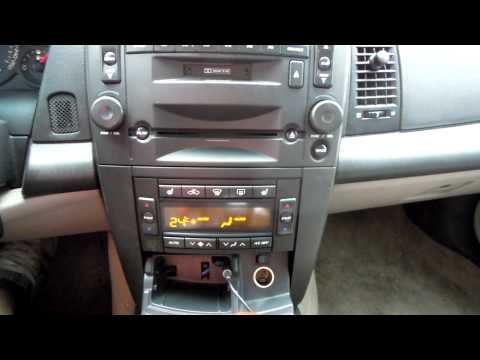 Cadillac CTS AUX (line In)
