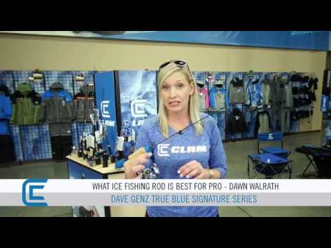 True Blue Ice Fishing Combo Series – Favorite Fishing Rod And Reel