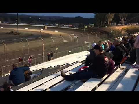 Grant Duinkerken 305 Sprint Heat Race Win Santa Maria Speedway 9-22-18