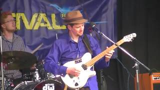 Nat Martin band Playing Linton Festival 2013
