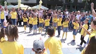 TV 5 - Predškolci iz Užica plesali na trgu