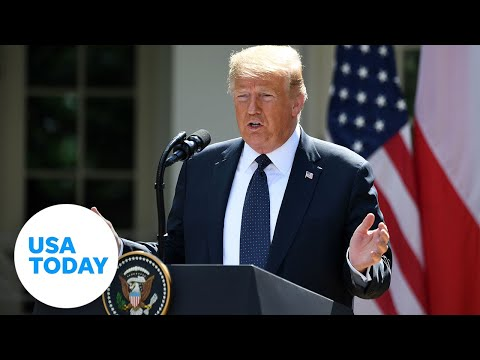 President Trump makes remarks on Operation Legend | USA TODAY