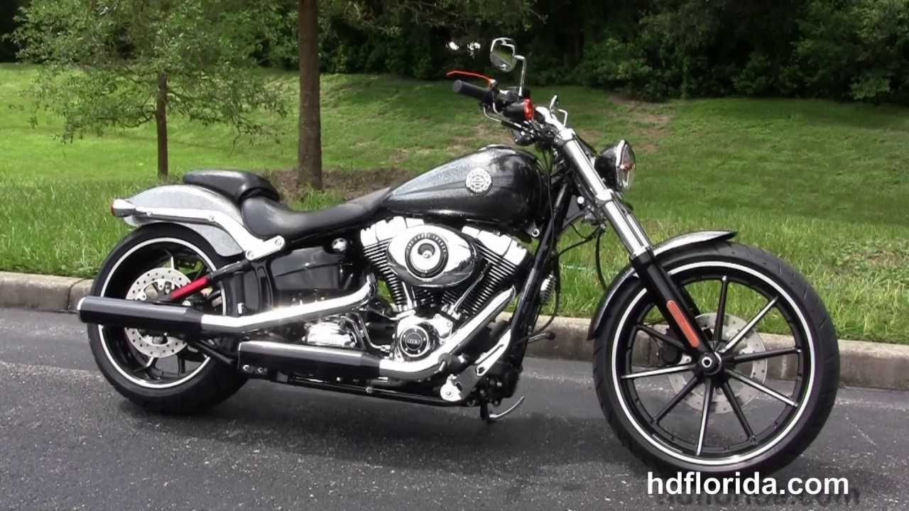 New 2014 harley davidson softail breakout for sale colors price youtube