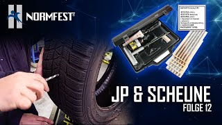 Folge 12 mit JP & Scheune: Loch im Reifen - Jetzt wird geflickt!