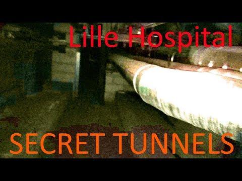 URBEX - Lille Hospital tunnels (France)