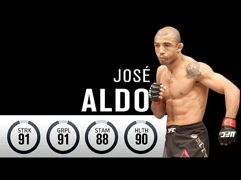 EA UFC 3 Epic Online Gun Fight! - Jose Aldo Is Incredible!