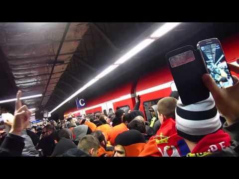 Trip to Frankfurt - APOEL ULTRAS (Dec 12, 2013)