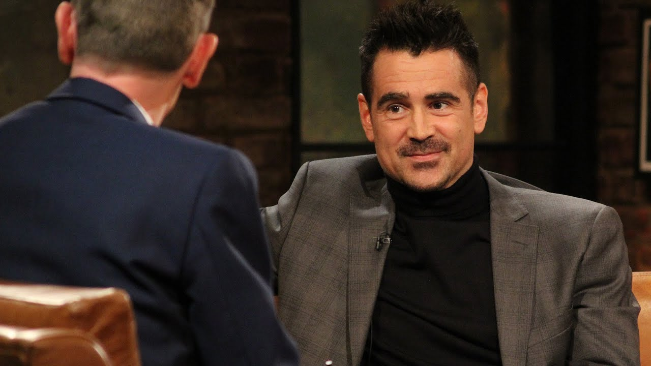 Colin Farrell on fatherhood | The Late Late Show | RTÉ One ...