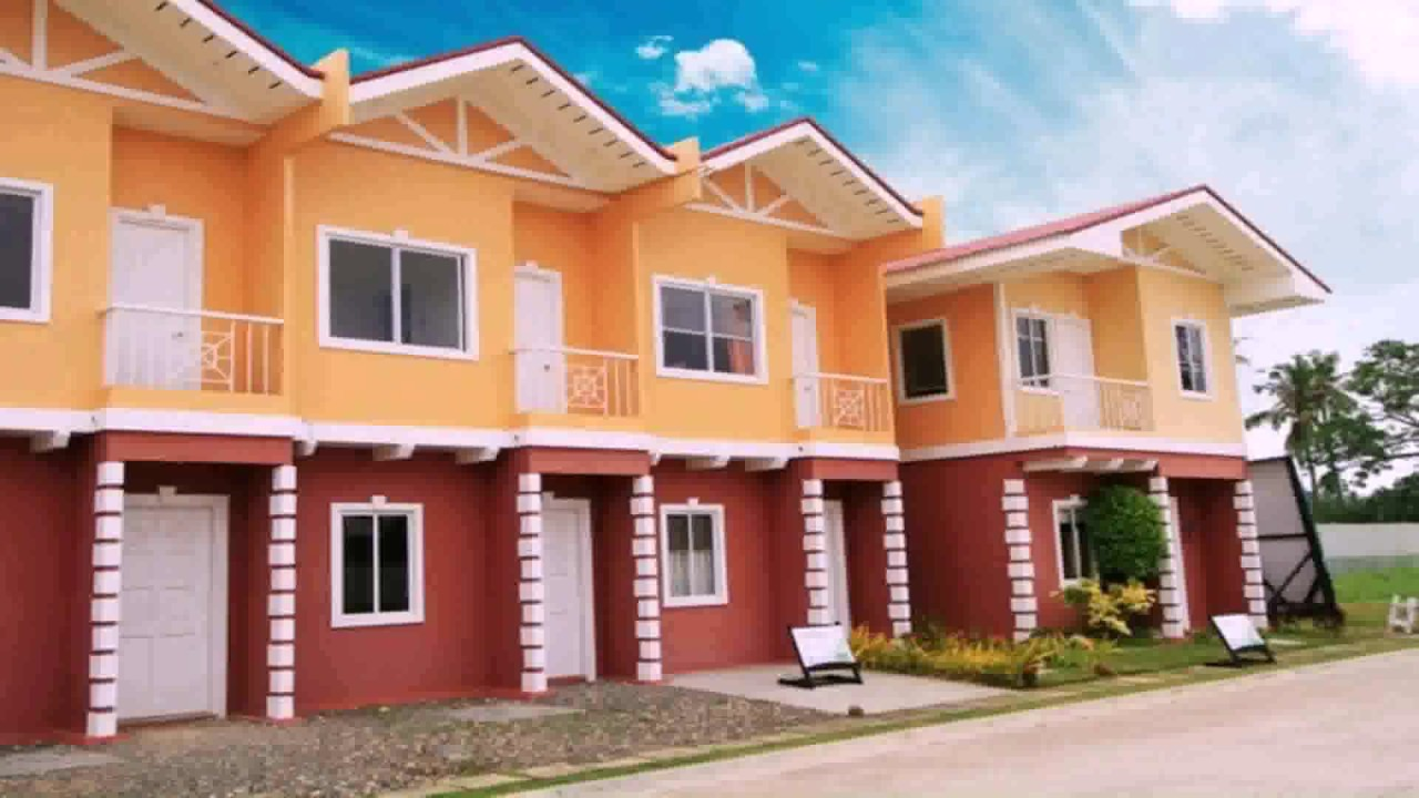 Small row house design philippines see description see for Design casa low cost