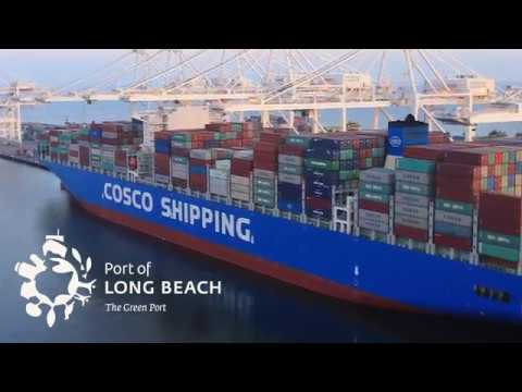 Gest Cosco Ship To Visit North America Calls At Port Of Long Beach