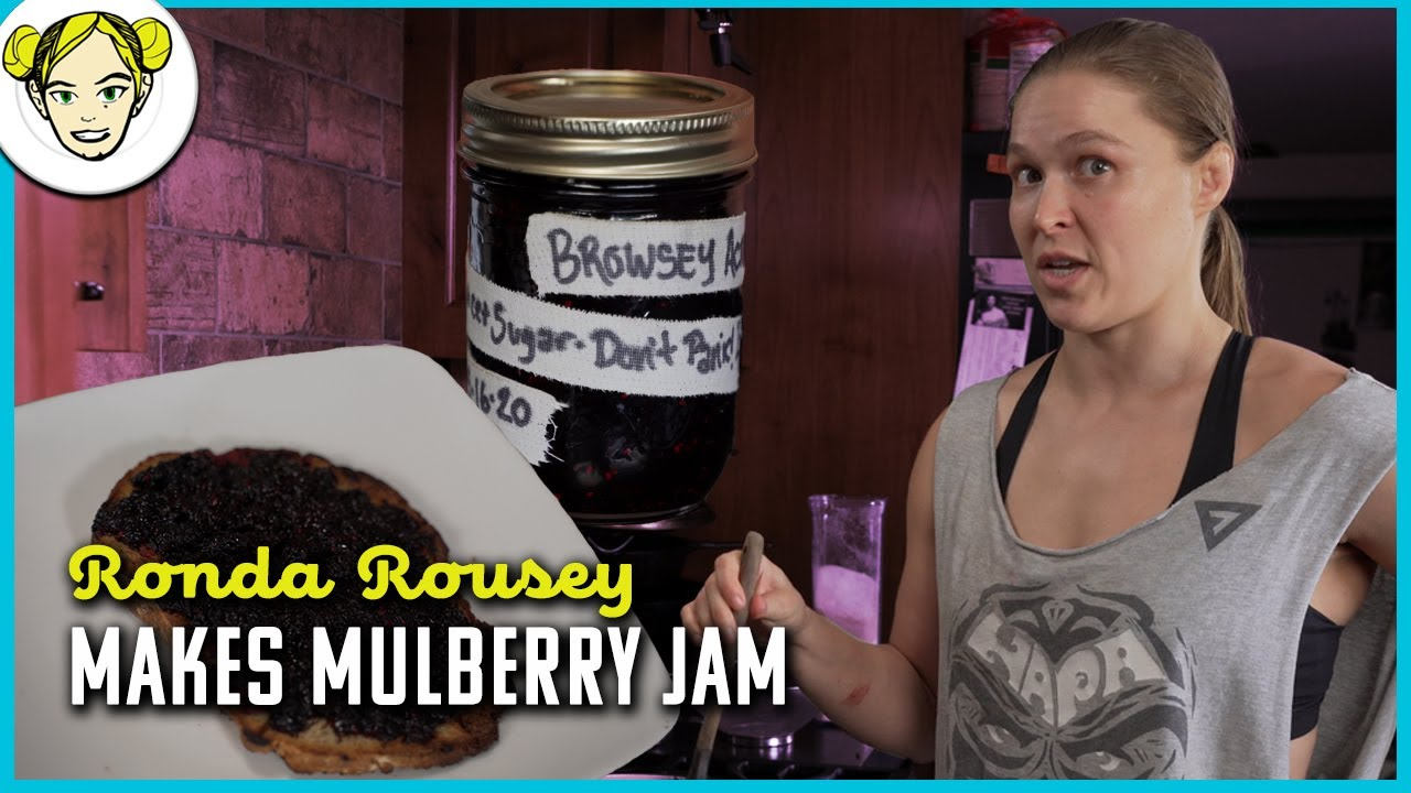 Ronda Shows You How To Make Jam With Her Fresh Mulberries