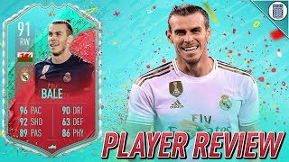 5* WEAKFOOT! - 91 FUT BIRTHDAY BALE PLAYER REVIEW! - FIFA 20 ULTIMATE TEAM