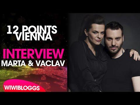 Interview: Marta Jandová and Václav Noid Bárta (Czech Republic 2015) | wiwibloggs