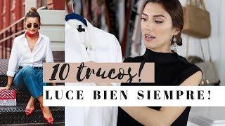 10 TRUCOS PARA VERNOS BIEN TODO EL TIEMPO-@karelytips
