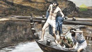 Читаем Евангелие вместе с Церковью 22 апреля 2020. Евангелие от Иоанна. Глава 1, ст.35-51.