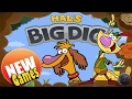 Nature cat adventure games (PBS Kids Games) Hal's Big Dig part 1
