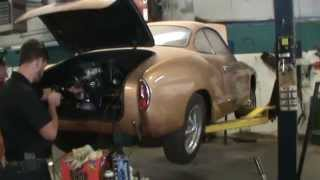 1965 vw karmann ghia cold start new engine