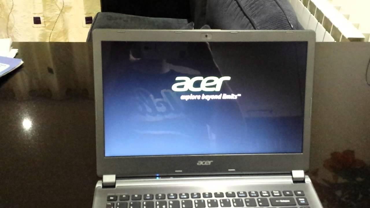 Samsung 840 EVO 250GB SSD In Acer Aspire V5 473 Boot